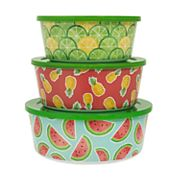 Celebrate Summer Together 3 pc Fruit Stacking Container Set