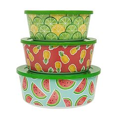 Celebrate Summer Together 3-pc. Fruit Stacking Container Set