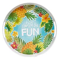 Celebrate Summer Together Tropical Serving Tray