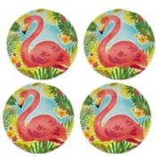 Celebrate Summer Together 4-pc. Pineapple Salad Plate Set