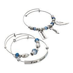 'Free Spirit' Bangle Bracelet Set