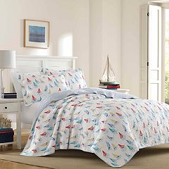Laura Ashley Lifestyles Ahoy Quilt Set