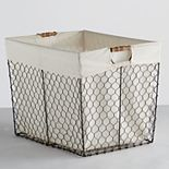Soho Market Chicken Wire Storage Bin
