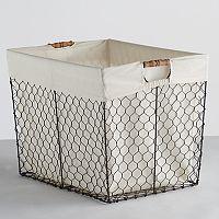 Soho Market Chicken Wire Storage Bin