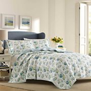Laura Ashley Lifestyles Peony Garden Quilt Set
