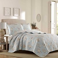 Laura Ashley Lifestyles Seaside Quilt Set