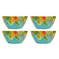 Celebrate Summer Together 4-pc. Pineapple Cereal Bowl Set