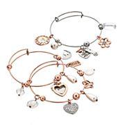 'Mom' Bangle Bracelet Set