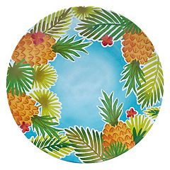 Celebrate Summer Together Pineapple Dinner Plate
