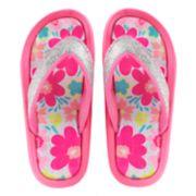 Girls 4-16 Elli by Capelli Floral Print Sport Sandals