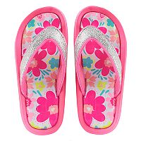 Girls 4-16 Elli by Capelli Floral Print Sport Sandals