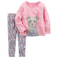 Baby Girl Carter's 2-pc. Long Sleeve Top & Jegging Set