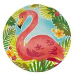 Celebrate Summer Together Flamingo Salad Plate