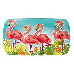 Celebrate Summer Together Flamingo Treat Tray