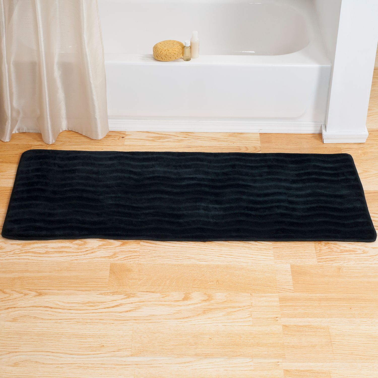 Nice Portsmouth Home Memory Foam Long Bath Rug Mat