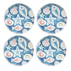 Celebrate Summer Together 4-pc. Coastal Dinner Plate Set