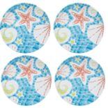 Celebrate Summer Together 4-pc. Coastal Salad Plate Set