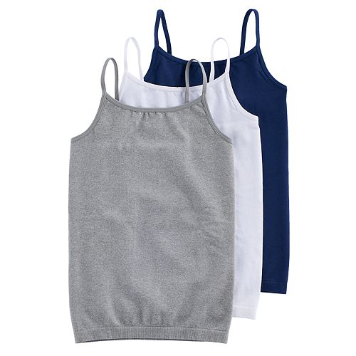 Girls 7-16 SO® 3-pk. Cami Tank Tops