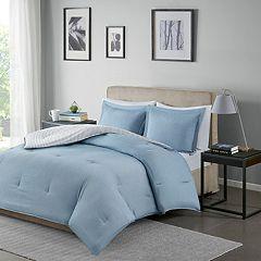 Madison Park Essentials Hayden Reversible Stripe Comforter Set