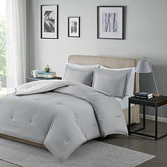 Madison Park Essentials Hayden Reversible Stripe Comforter Set