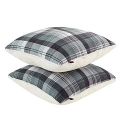 Woolrich 2-pack Tasha Softspun & Berber Fleece Throw Pillow