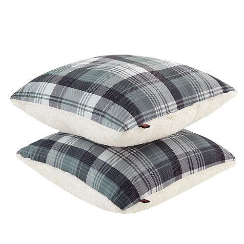 Woolrich 2-pack Tasha Softspun & Berber Fleece Throw Pillow