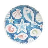 Celebrate Summer Together Coastal Dinner Plate