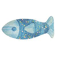 Celebrate Summer Together Mosaic Fish Serving Tray
