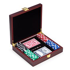 Bey-Berk 100-Chip Poker Set