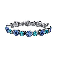1928 Blue Station Stretch Bracelet