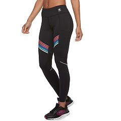 Women's FILA SPORT® Mesh Striped Leggings