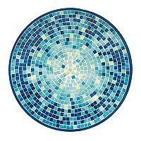 Celebrate Summer Together Mosaic Dinner Plate