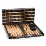 "Bey-Berk 21"" Backgammon Set"
