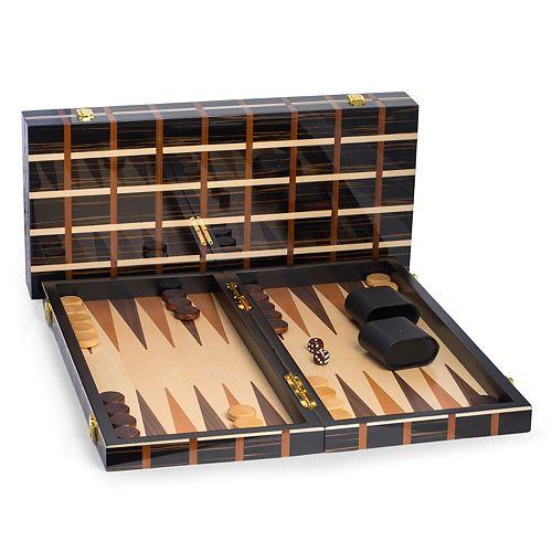 "Bey-Berk 21"" Backgammon Set"