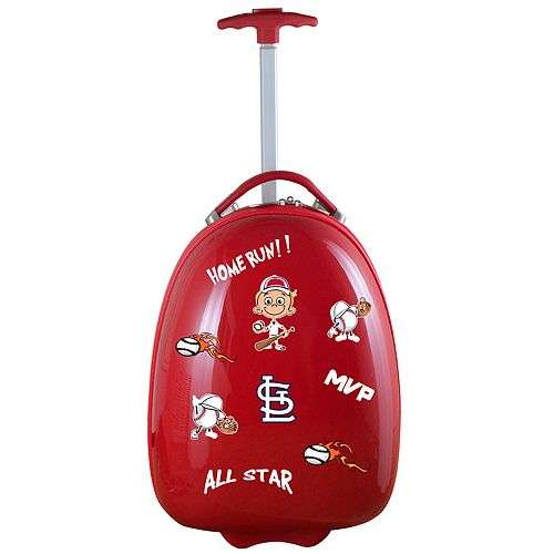 Youth St. Louis Cardinals Wheeled Pod Luggage