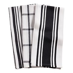 KAF HOME Drizzle Kitchen Towel 3-pk.