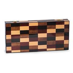 Bey-Berk 18-inch Backgammon Set