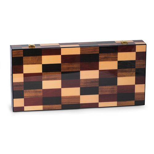 Bey-Berk 18-inch Backgammon Set