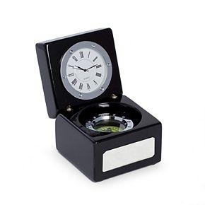 Bey-Berk Desk Clock and Compass