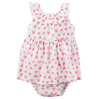 Baby Girl Carter's Heart Sunsuit
