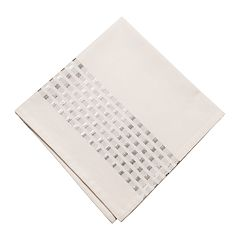 KAF HOME Taurus Metallic Check Napkin 4-pk.