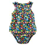 Baby Girl Carter's Floral Sunsuit