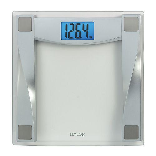 taylor glass digital bathroom scale - Taylor Bathroom Scales