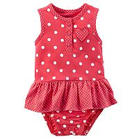 Baby Girl Carter's Polka Dot Sunsuit
