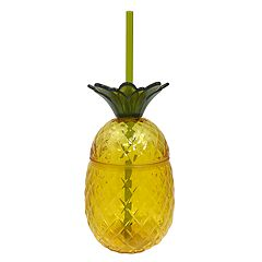 Celebrate Summer Together Acrylic Pineapple Straw Cup