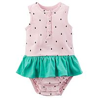 Baby Girl Carter's Watermelon Sunsuit
