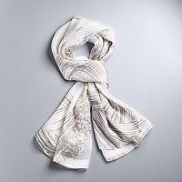 Simply Vera Vera Wang Brushstroke Oversize Wrap Scarf