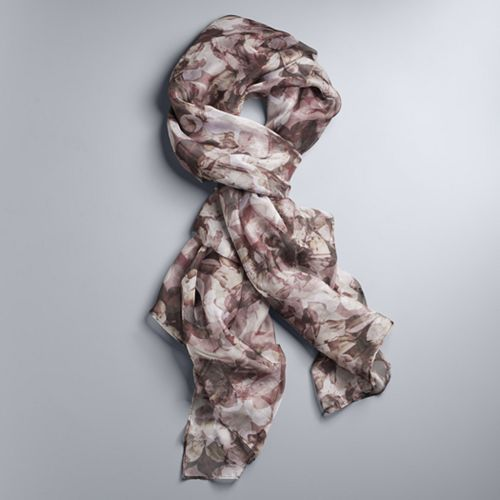 Simply Vera Vera Wang Floral Oversize Wrap Scarf