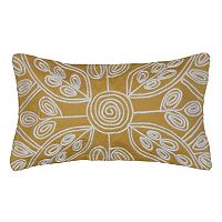 Spencer Home Decor Meredith Bloom Floral Oblong Throw Pillow