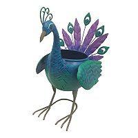 Celebrate Together Indoor / Outdoor Peacock Planter